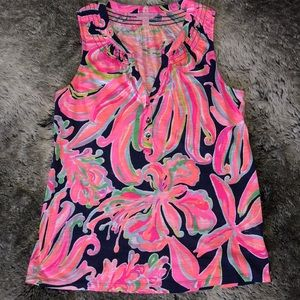 Lilly Pulitzer Essie Tank S Small NWOT